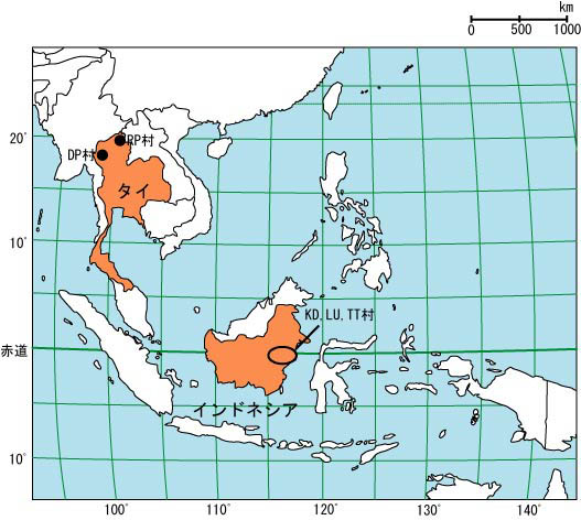 SE Asia map